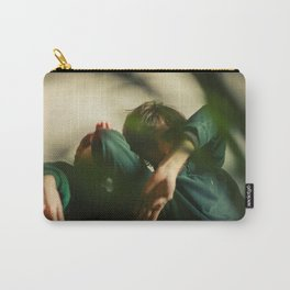 Dancing people, dance, shadows, hands and plants, blurred photography, artistic, forest, yoga Carry-All Pouch