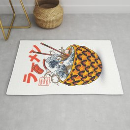 Great vibes ramen Rug
