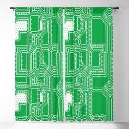 Computer board pattern Blackout Curtain