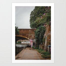 Afternoon Stroll   London Art Print