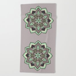 Elven Mandala Beach Towel