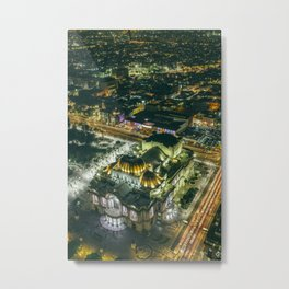 Downtown CDMX Metal Print