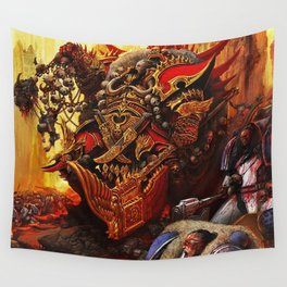 the king orc Wall Tapestry