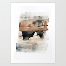 abstract minimal 9 Art Print