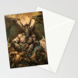 Hellcarver Demon Stationery Cards