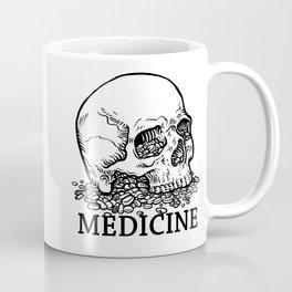 Medicine Skull Coffee Mug