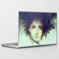hiccup Laptop & iPad Skins featuring Alpha by Anna Dittmann
