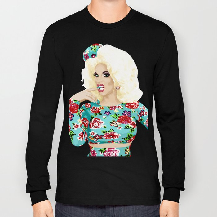 Katya Zamo, Jet Set Eleganza, RuPaul's Drag Race Queen Long Sleeve T-shirt