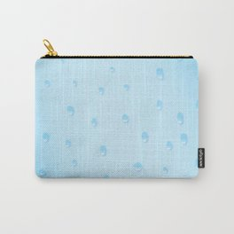 Rain On Glass Carry-All Pouch