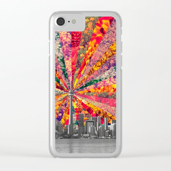 Blooming Toronto Clear iPhone Case