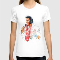 elvis presley T-shirts featuring Elvis presley by calibos