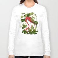 flamingo Long Sleeve T-shirts featuring Flamingo by Fifikoussout