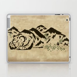 Sleepy Bear Mountain Laptop & iPad Skin