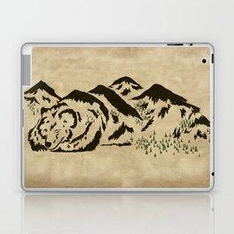 Sleepy Bear Mountain Laptop & iPad Skin