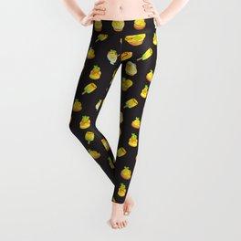 Sweet Lemon frog - dark Leggings