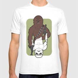 Chewbacca and Stormtrooper T-shirt
