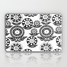 Circular Flower Laptop & iPad Skin