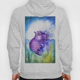 Fiona the Hippo - Splashing around Hoody