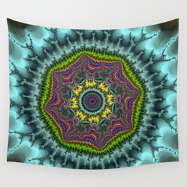 Fractal Agate Wall Tapestry