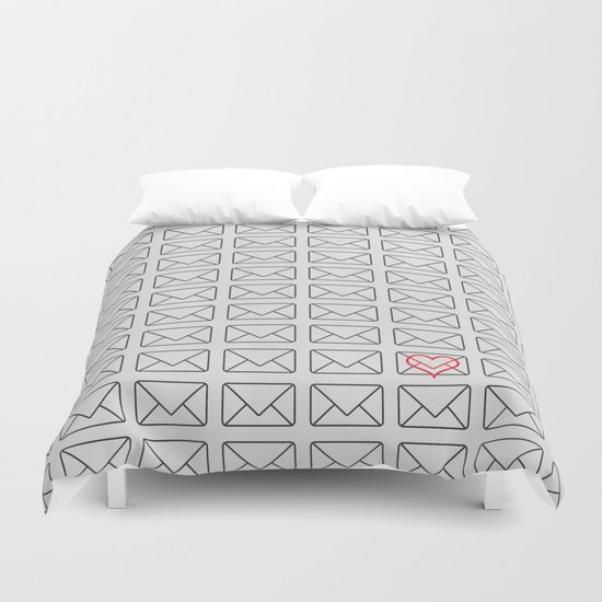 Love note Duvet Cover