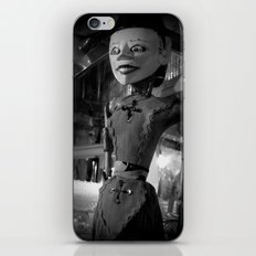 antique store puppet iPhone & iPod Skin