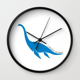 Nessie, I believe! Wall Clock
