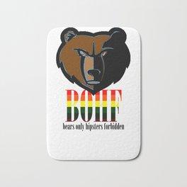 Bears only I Bath Mat