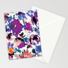 Sara Floral Blue Stationery Cards