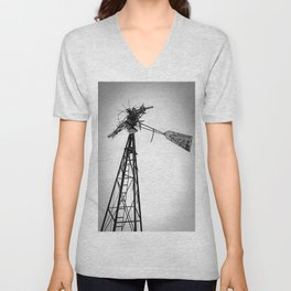 Twisted Windmill II Unisex V-Neck
