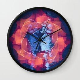 filaments + linoleum Wall Clock