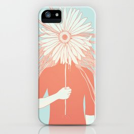 Flower Girl (Life and the Fragile Presence of Beauty) iPhone Case