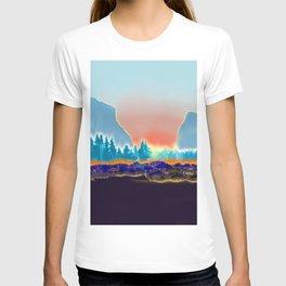Winter horizon T-shirt