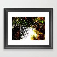 Extra Vivid Stream Framed Art Print