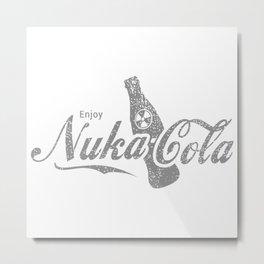 Enjoy Nuka Cola Metal Print