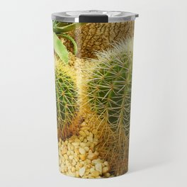 Golden Ball Cactus Travel Mug