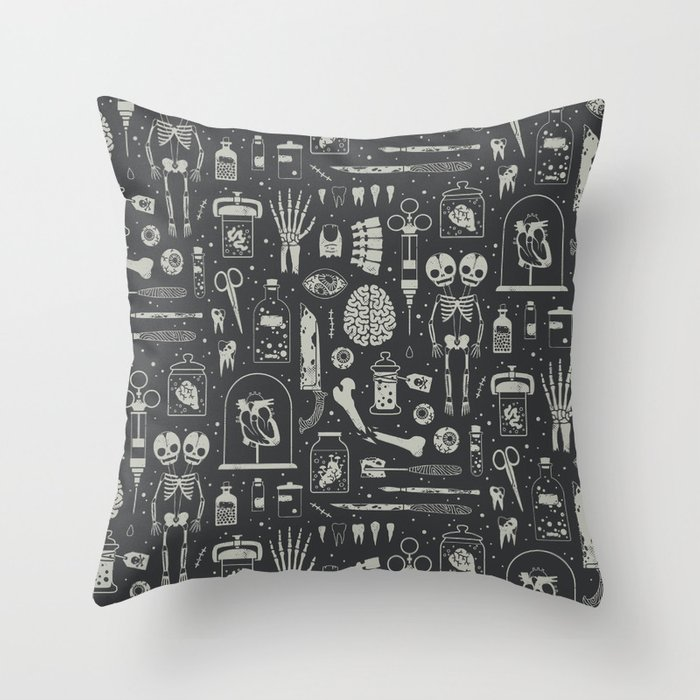 Oddities: X-ray Throw Pillow