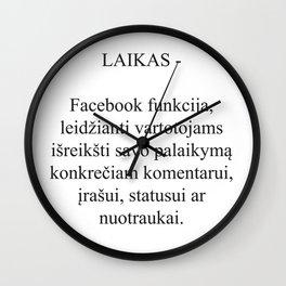 Laikrodis Wall Clock
