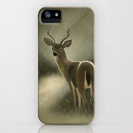 Dear deer.. iPhone Case