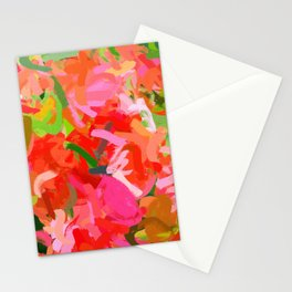 Preconceived Blossom #abstract #painting Stationery Cards