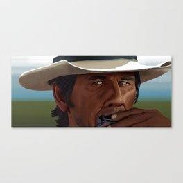 Once Upon a Time in the West: Charles Bronson Canvas Print