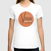vogue T-shirts featuring Vogue by One Little Bird Studio