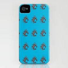 Blue Crab  Slim Case iPhone (4, 4s)