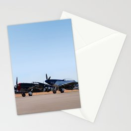 WW2 Warbirds Line-up, Sonoma County Airport, California Stationery Cards