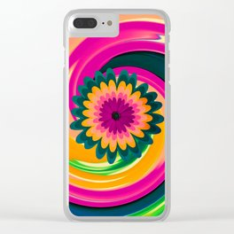 Susie III Clear iPhone Case