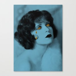 Sequined Sadness Canvas Print