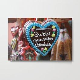 You are my sweet bear   Du bist mein süßes Bärchen Metal Print