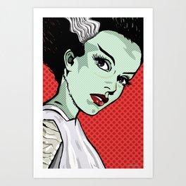 The Bride of Lichtenstein Art Print