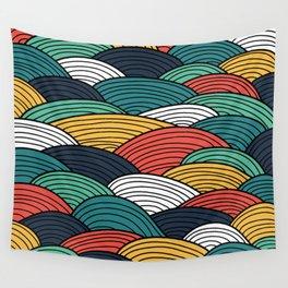 sea pattern, pattern Wall Tapestry