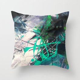 Ninth Degree Mat Throw Pillow