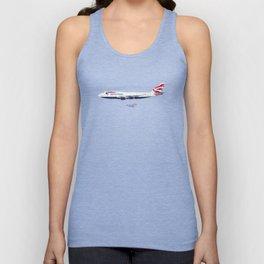 British Airways 747 Unisex Tank Top